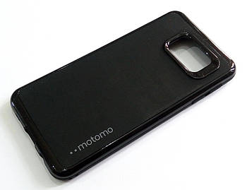 Чехол противоударный Motomo для Samsung Galaxy A3 A310 (2016) черный