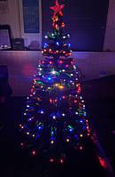 Елка светящаяся светодиодная оптоволоконная 120 см vip120, фото 1