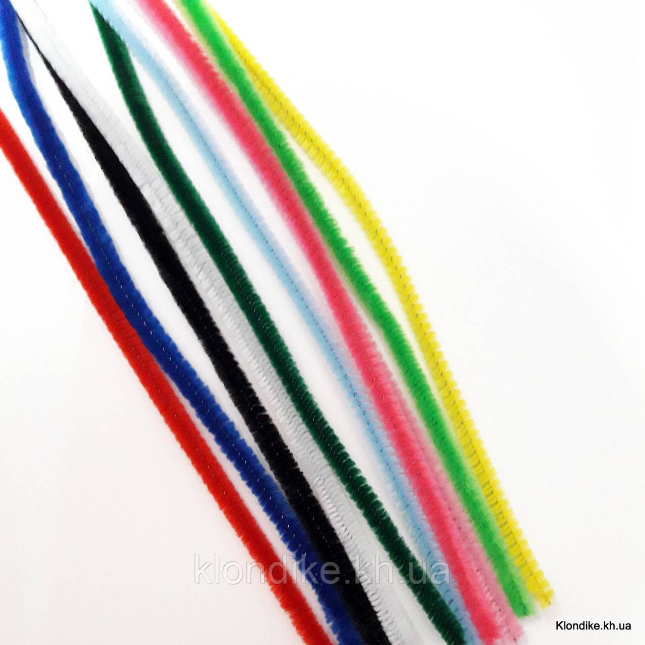 Проволока синельная, 30 см, Цвет: Микс (10 шт.)