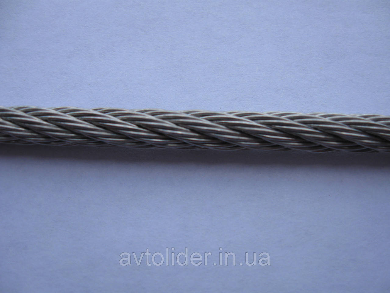 Нержавеющий трос, плетение 7х7, А2 (AISI 304).