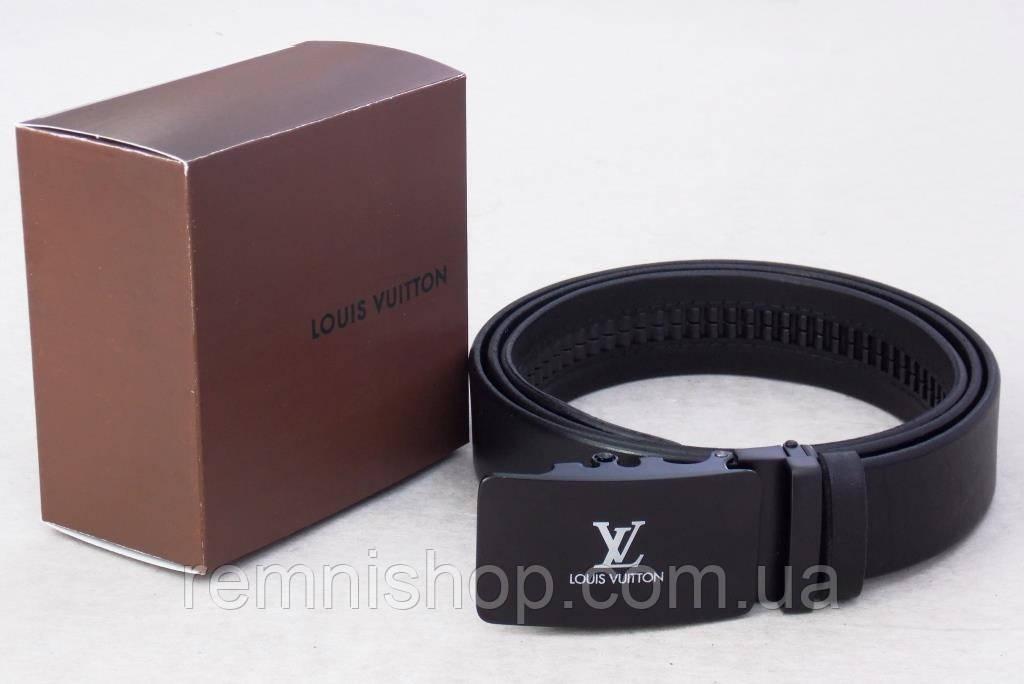 Мужской кожаный ремень автомат Louis Vuitton