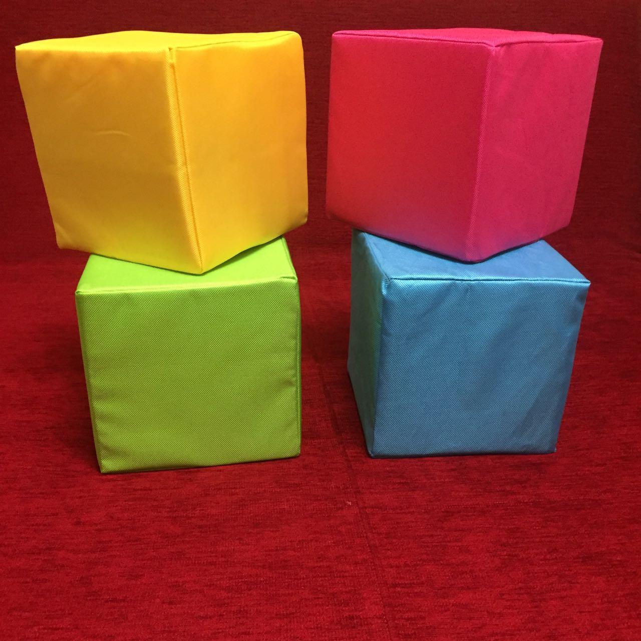Кубики поролоновые в чехлах 20см