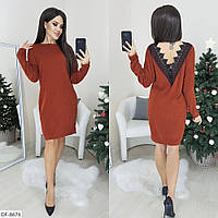 Стильное платье  (размеры 48-50) 0225-83, фото 1