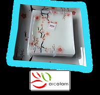 Набор квадратных тарелок  для суши ArcoFam 1532