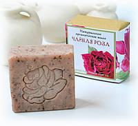 Подарок к Новому году для женщины натуральное мыло РОЗА ручной работы