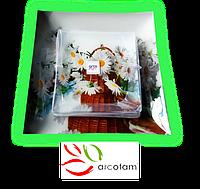 Набор квадратных тарелок  для суши ArcoFam 697
