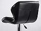 """Барний стілець Hoker з поворотом сидіння 360 градусів і підставкою для ніг """"Чорний/Білий, фото 4"""
