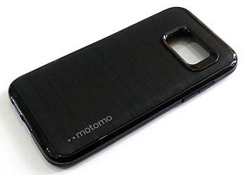 Чехол противоударный Motomo для Samsung Galaxy A3 A320 (2017) черный