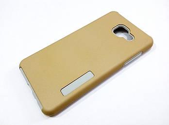 Чехол противоударный Dual Pro для Samsung Galaxy A5 A510 (2016) поликарбонат золотой