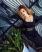 Облегающее платье футляр миди силуэтное сексуальное с декольте на пуговицах черное красное, фото 6
