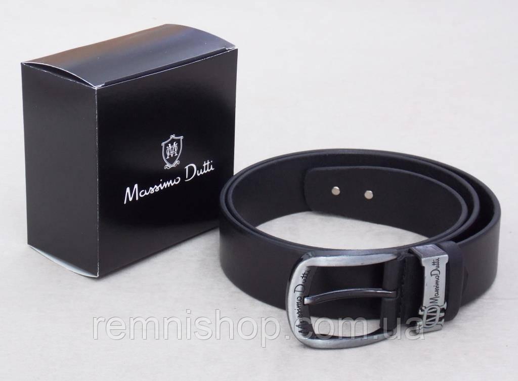 Стильный мужской кожаный ремень Massimo Dutti