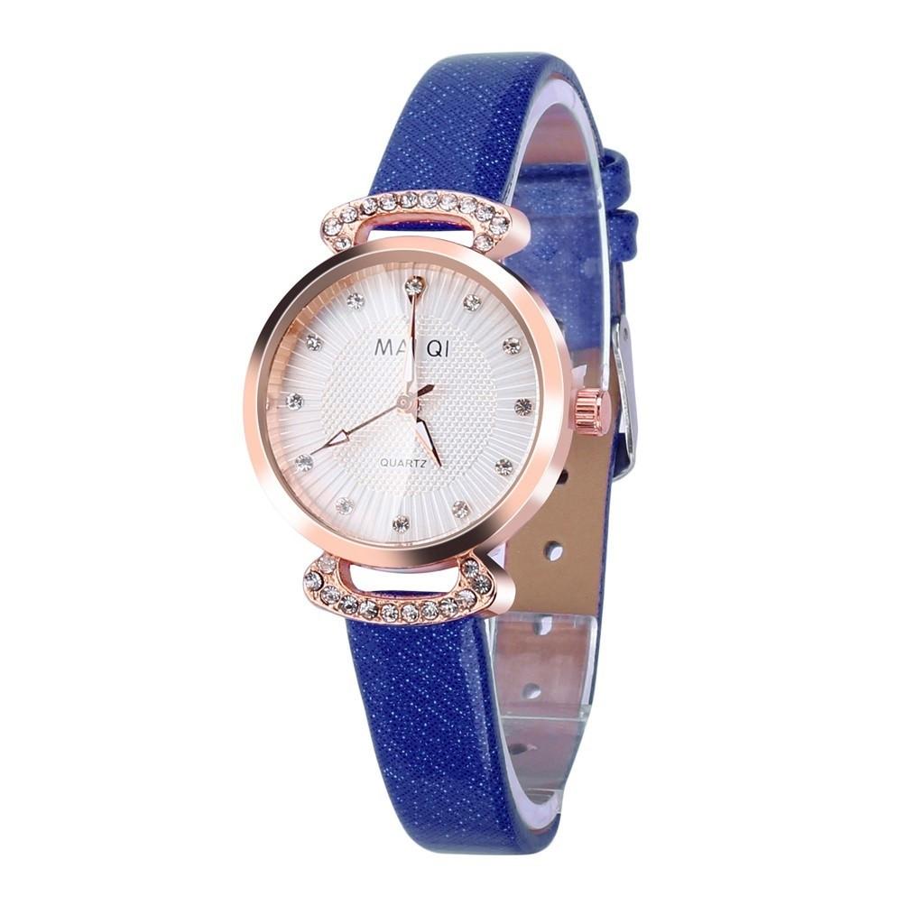 """Жіночі наручні годинники """"Mai Qi (синій)"""
