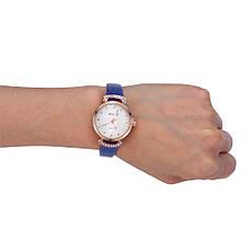 """Жіночі наручні годинники """"Mai Qi (синій), фото 3"""