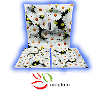 Набор квадратных тарелок  для суши ArcoFam 605