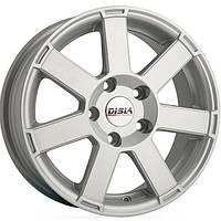 Литые диски Disla Hornet R15 W6.5 PCD5x112 ET35 DIA66.6 (silver)
