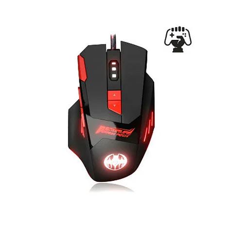Игровая мышка Jedel GM625 800-1000-1600-2400 DPI с дополнительными кнопками на корпусе и подсветкой, фото 2