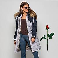 Зимняя женская куртка  IV 779475 Серый