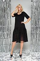 Платье женское свободного кроя в 3х цветах L-286 размеры 44-54, фото 1