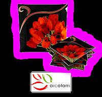 Набор квадратных тарелок  для суши ArcoFam 150