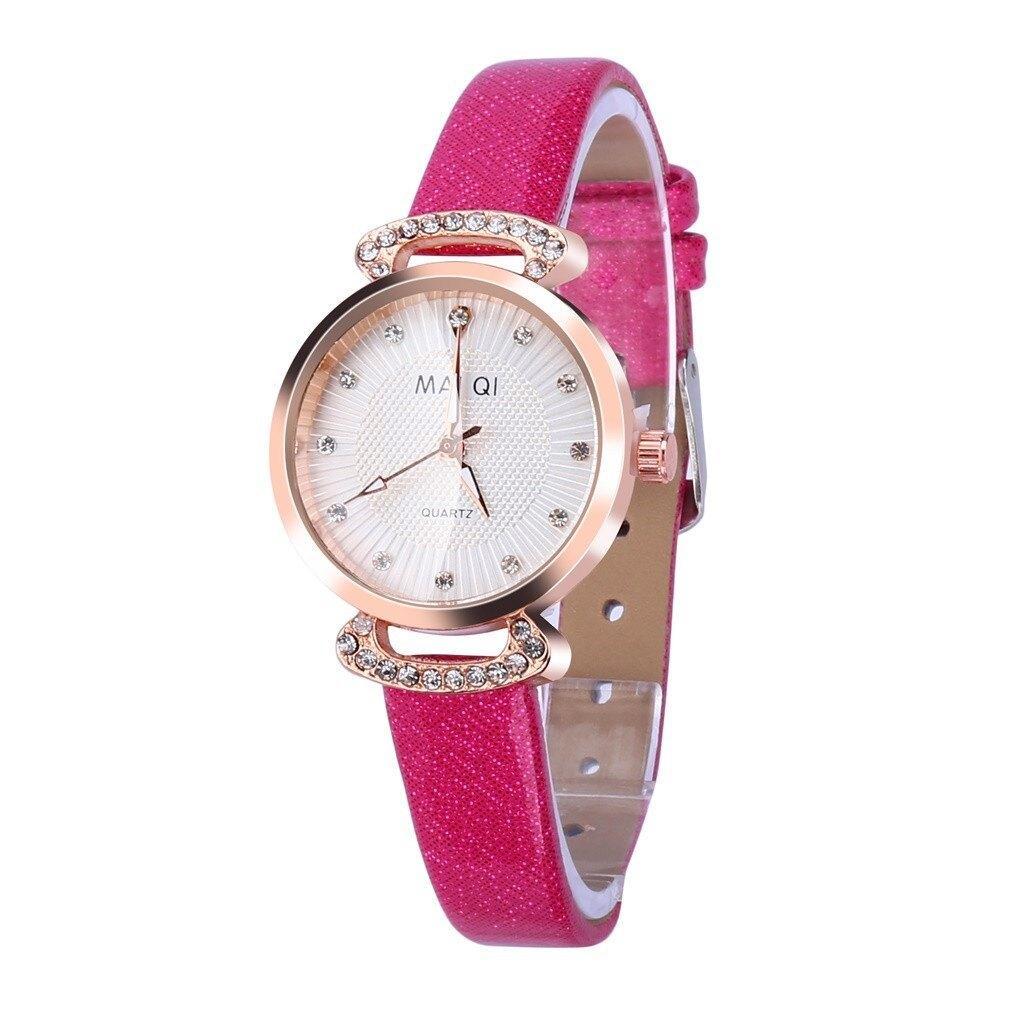 """Женские наручные часы """"Mai Qi"""" (розовый)"""