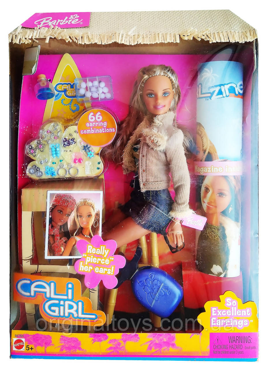Коллекционная кукла Барби Barbie Cali Girl 2004 Mattel B5766