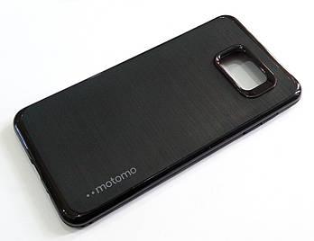 Чехол противоударный Motomo для Samsung Galaxy A7 A710 (2016) черный