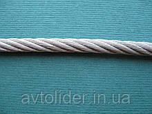 Нержавеющий трос, плетение 7х19, А4 (AISI 316).