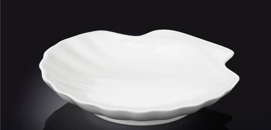 Блюдо сервировочное Wilmax в форме ракушки 18 см, фото 2