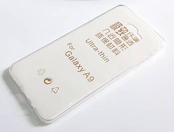 Чехол для Samsung Galaxy A9 A9000 (2016) силиконовый ультратонкий прозрачный
