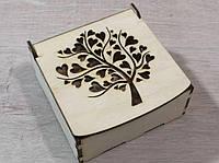 Деревянная коробка для упаковки. Подарочная коробка, фото 1