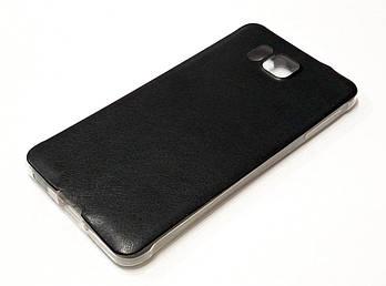 Чехол силиконовый под кожу для Samsung Galaxy Alpha g850f черный