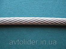 Нержавеющий трос, плетение 1х19, А4 (AISI 316).
