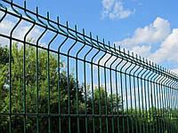 Забор 3Д сетка Секционный сварной в полимерном покрытии из металла в Днепре 3/4мм 2.5 х 1,75м.