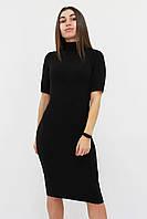 S, M, L | Тепле та зручне ангорове плаття Florida, чорний
