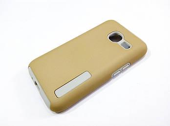 Чехол противоударный Dual Pro для Samsung Galaxy J1 Mini J105 поликарбонат золотой