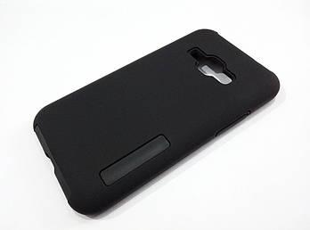 Чехол противоударный Dual Pro для Samsung Galaxy J1 J120 (2016) поликарбонат черный