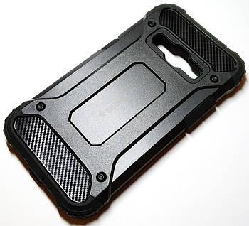 Чехол противоударный Spigen для Samsung Galaxy J1 j120 (2016) черный