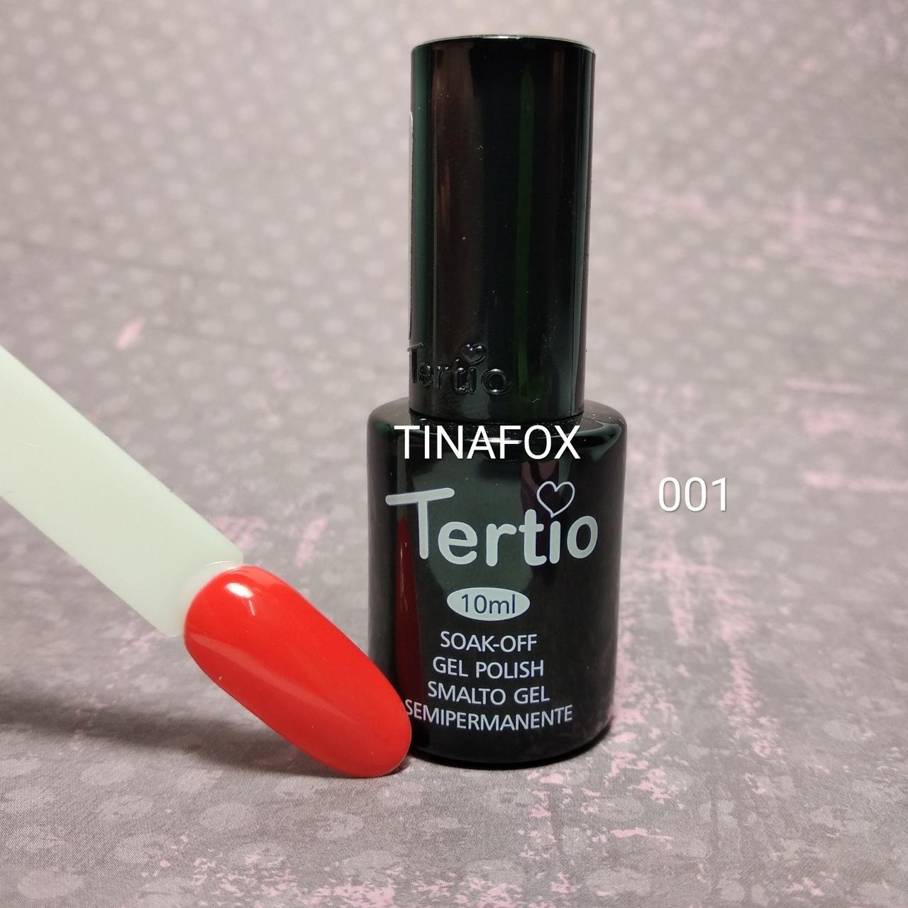 Гель-лак для ногтей Tertio №01, 10мл