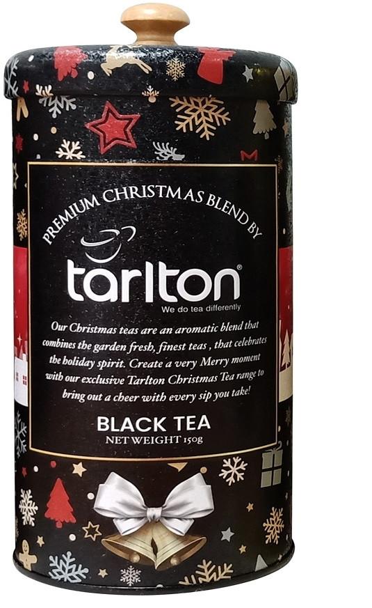 Чай подарочный Тарлтон Черный бархат с бергамотом 150 г в жестяной банке