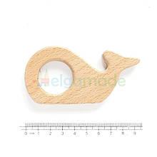 Грызунок-основа из дерева КИТ, 9.5х4.8 см