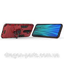 Ударопрочный чехол Transformer Ring под магнитный держатель для Xiaomi Redmi Note 8 Pro, фото 3