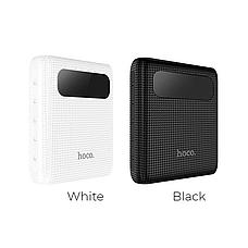 Портативное зарядное устройство HOCO B20 MIGE с LED экраном 10000 mah SLIM , Power Bank 10000 mah ОРИГИНАЛ, фото 2