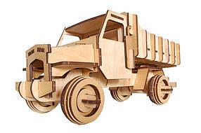 Деревянный 3D-пазл РЕЗАНОК Грузовой автомобиль 73 элемента (REZ0010)