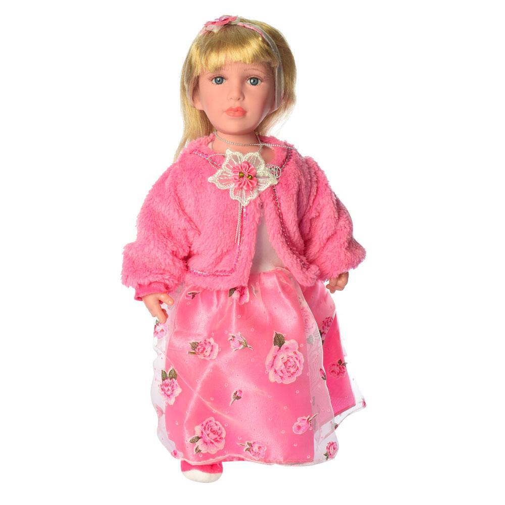 Кукла Маленькая дама M 4043 UA музыкальная интерактивная