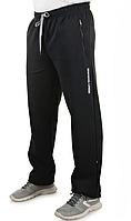 Мужские теплые штаны из трикотажа на флисе «Ламбор» (Серые, хаки, черные, синие | 50, 52, 54, 56, 58)