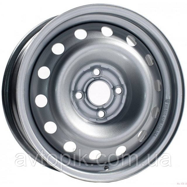 Стальные диски Steel ДК R14 W5 PCD5x100 ET35 DIA57.1 (металлик)