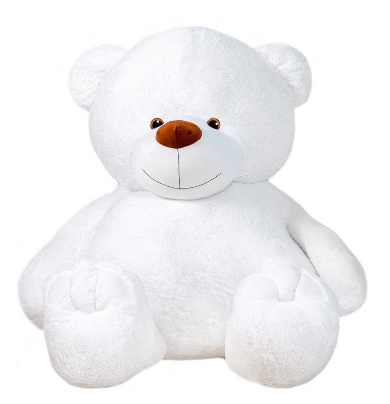 Мягкая игрушка медведь 135 см Белый (196-19112838)