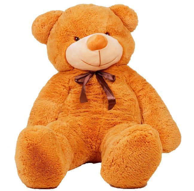 Мягкая игрушка медведь Тедди 140 см Карамельный (196-19112827)