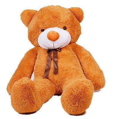 Мягкая игрушка медведь Тедди 180 см Карамельный (196-19112831), фото 2