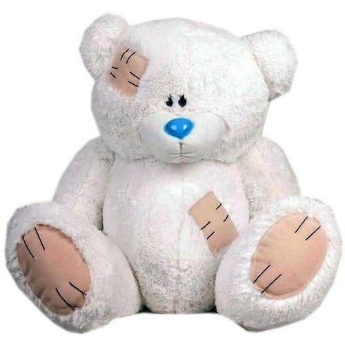 Мягкая игрушка медведь Гриша 140 см Белый (196-19112839)